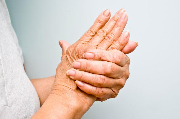 Durerea de umar, Când ridicați o mână, dureri articulare severe