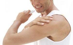 umflarea articulației umărului
