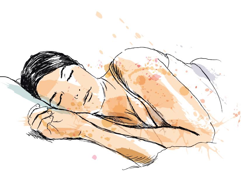 Spune-mi în ce poziţie dormi ca să-ţi spun ce boli şi neplăceri poţi avea