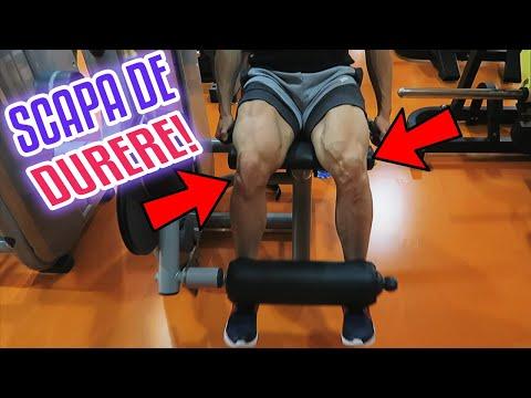 Articulația genunchiului face clic și doare
