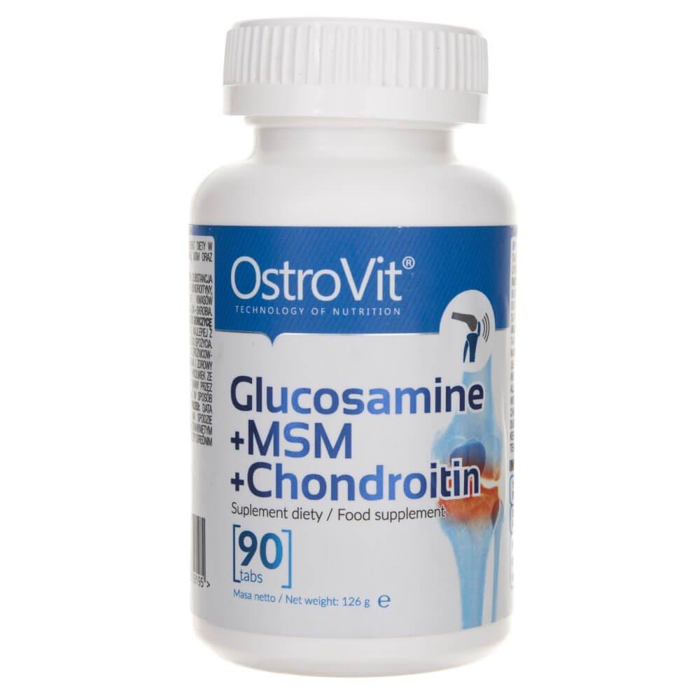 Glucozamină, Condroitină si MSM, 120 tablete, Swanson