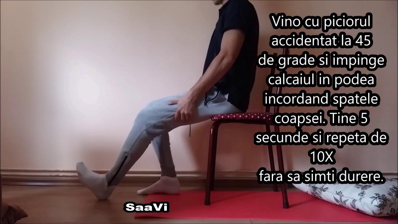 Dureri de genunchi? Iată ce exerciţii fizice poţi să faci!