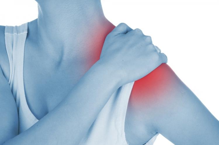 Durere în tratamentul articulației umărului drept