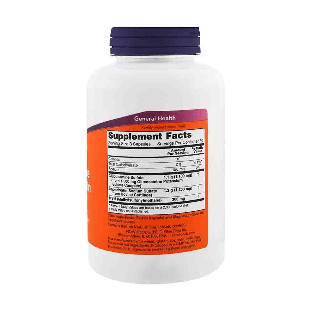 glucozamină fără condroitină
