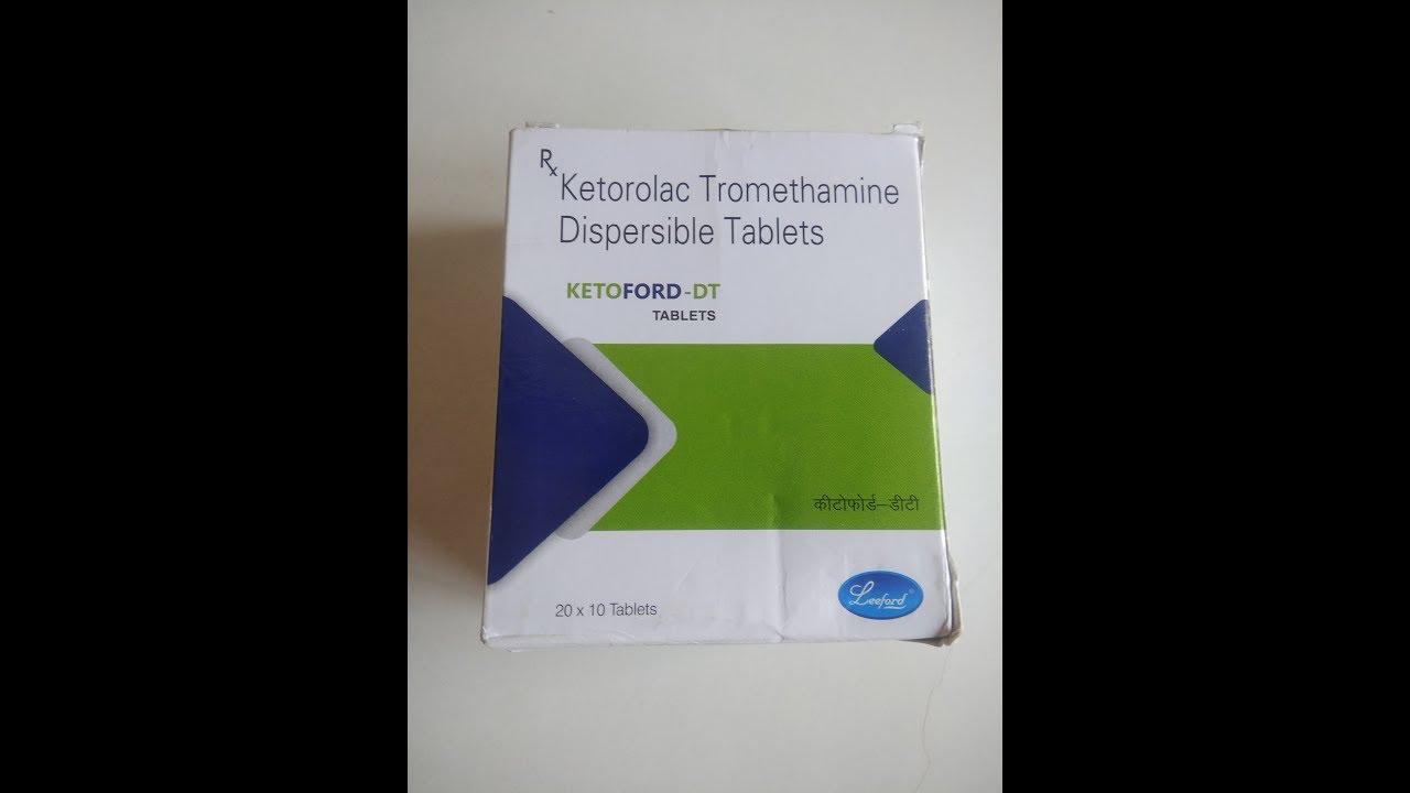 Ketorol pentru dureri de genunchi Tratamentul Torsunov al artrozei