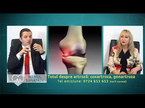 Amplipulse pentru artroza articulației șoldului
