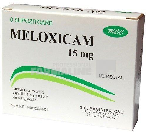Puteți lua meloxicam pentru dureri articulare. Când sunt prescrise analgezicele