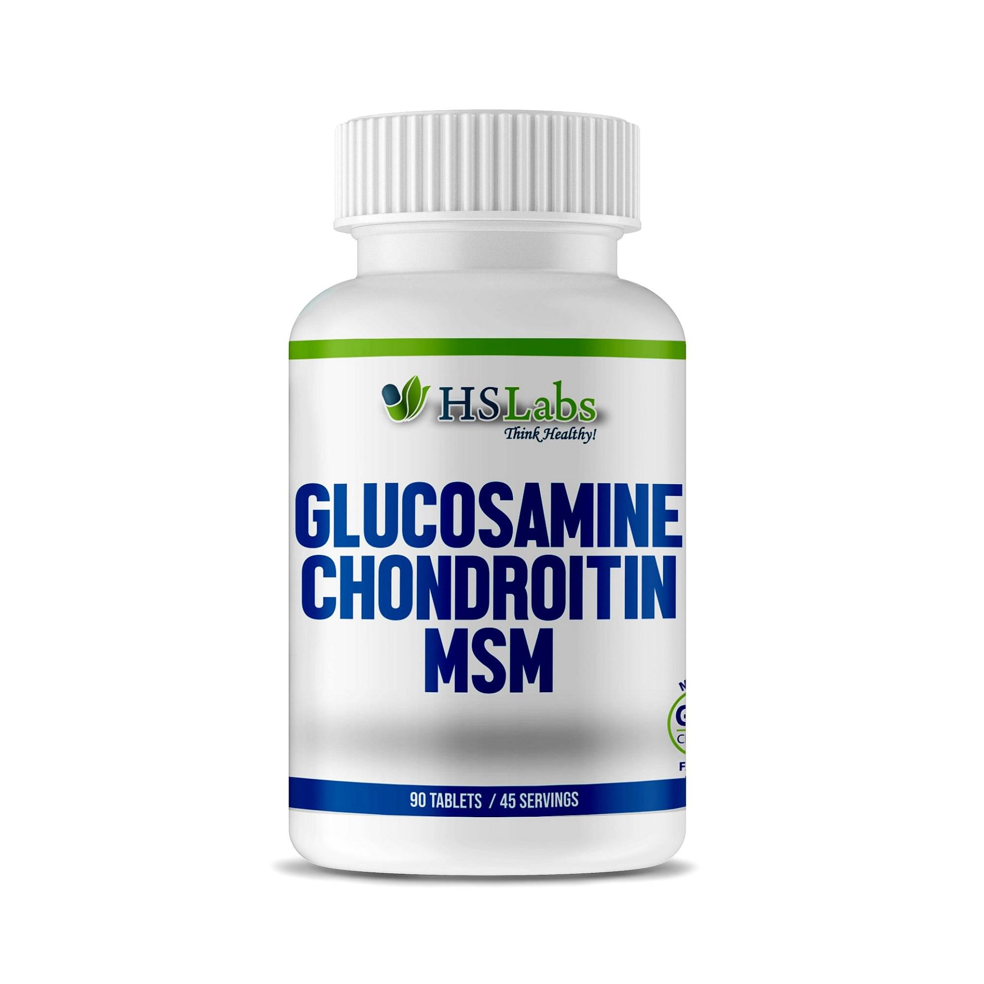 se formează eliberarea de glucozamină și condroitină