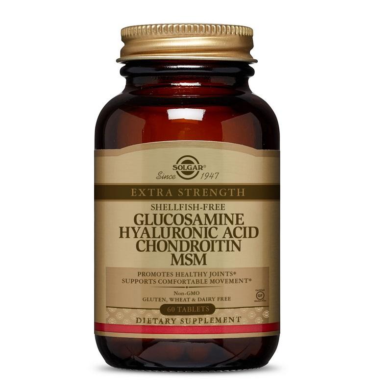 Omega 3 cu Glucozamină și Condroitină, 30 doze, Lysi