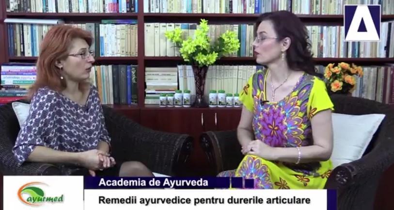 Tratamentul durerii articulare Ayurveda