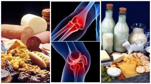 produse dăunătoare bolilor articulare