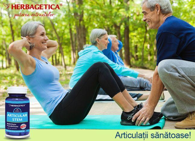 Articular Stem - Herbagetica, 60 capsule (Articulatii) - sfantipa.ro