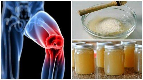 Durere articulară gelatină cum se aplică