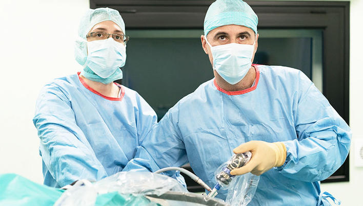 chirurgie de leziuni articulare deschise