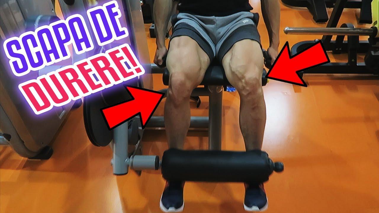 Dureri de genunchi: cauze si remedii simple