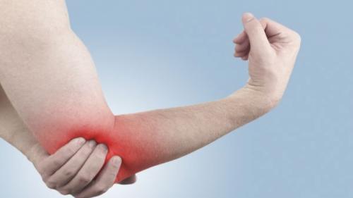 Durere ascuțită în articulația cotului la îndoire
