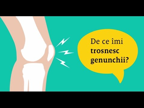 articulațiile în genunchi și picioare se crispa