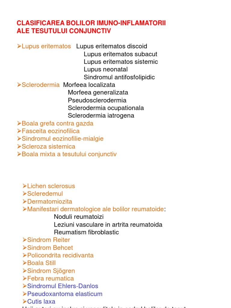 Ce este boala de țesut conjunctiv nediferențiat?