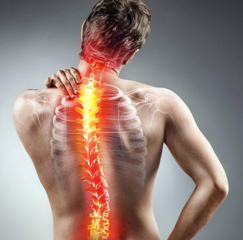 durere în articulațiile coloanei toracice