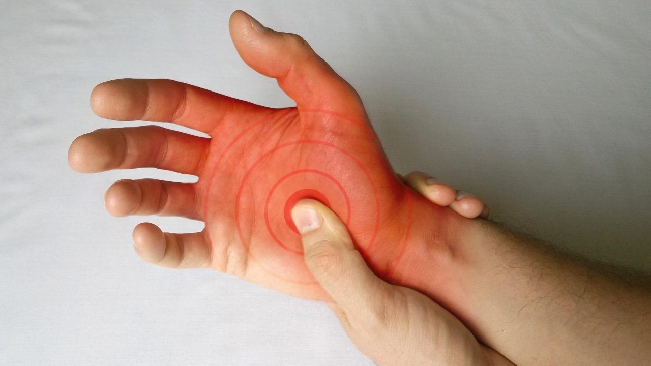 dureri la nivelul articulațiilor degetelor după vânătăi