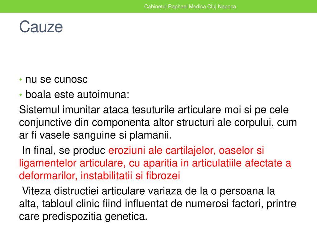 inflamație simultană a mai multor articulații în latină semne de artrită a articulațiilor degetelor