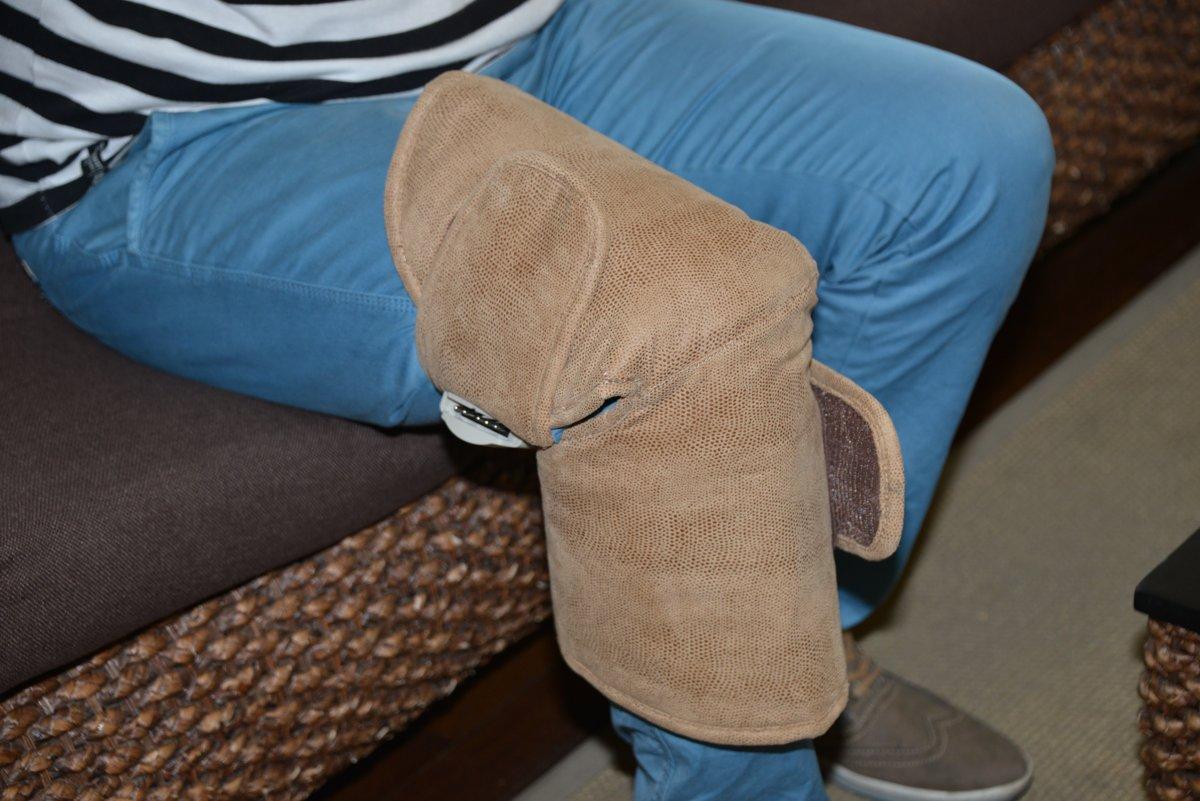 Turmalina pentru artroza genunchiului, Set centuri pentru Genunchi cu Turmalina si Magneți