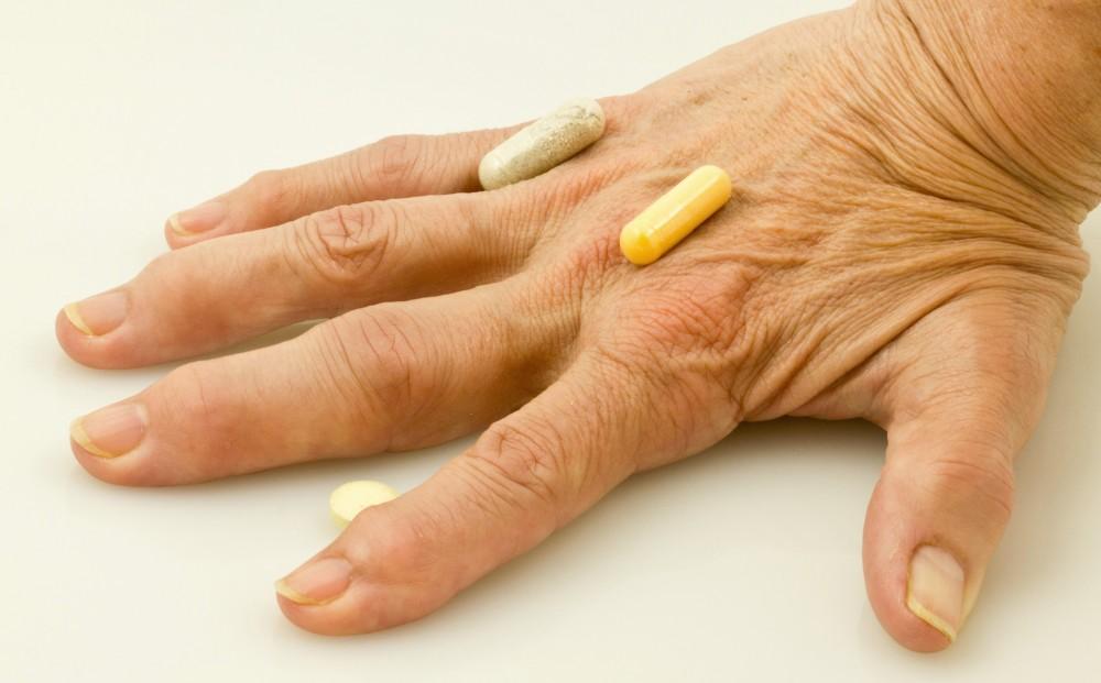 artrita pe maini tratament de scurgere a șoldului