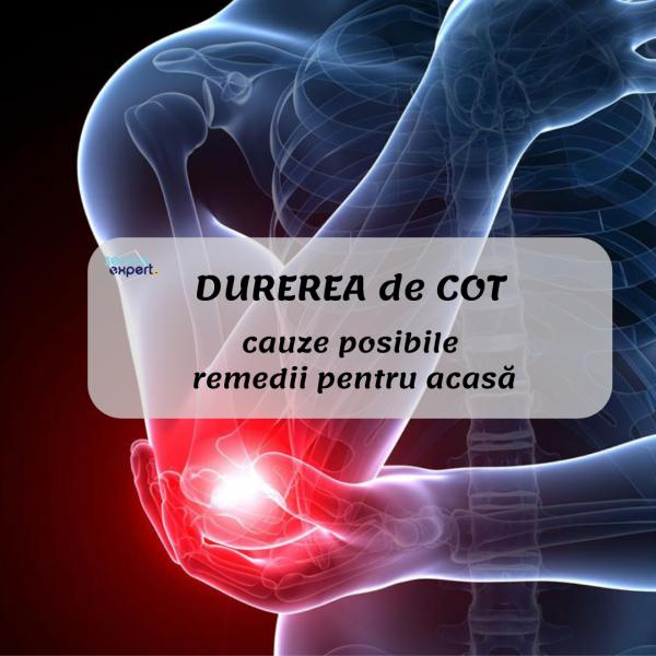 durere cu presiune asupra articulației cotului