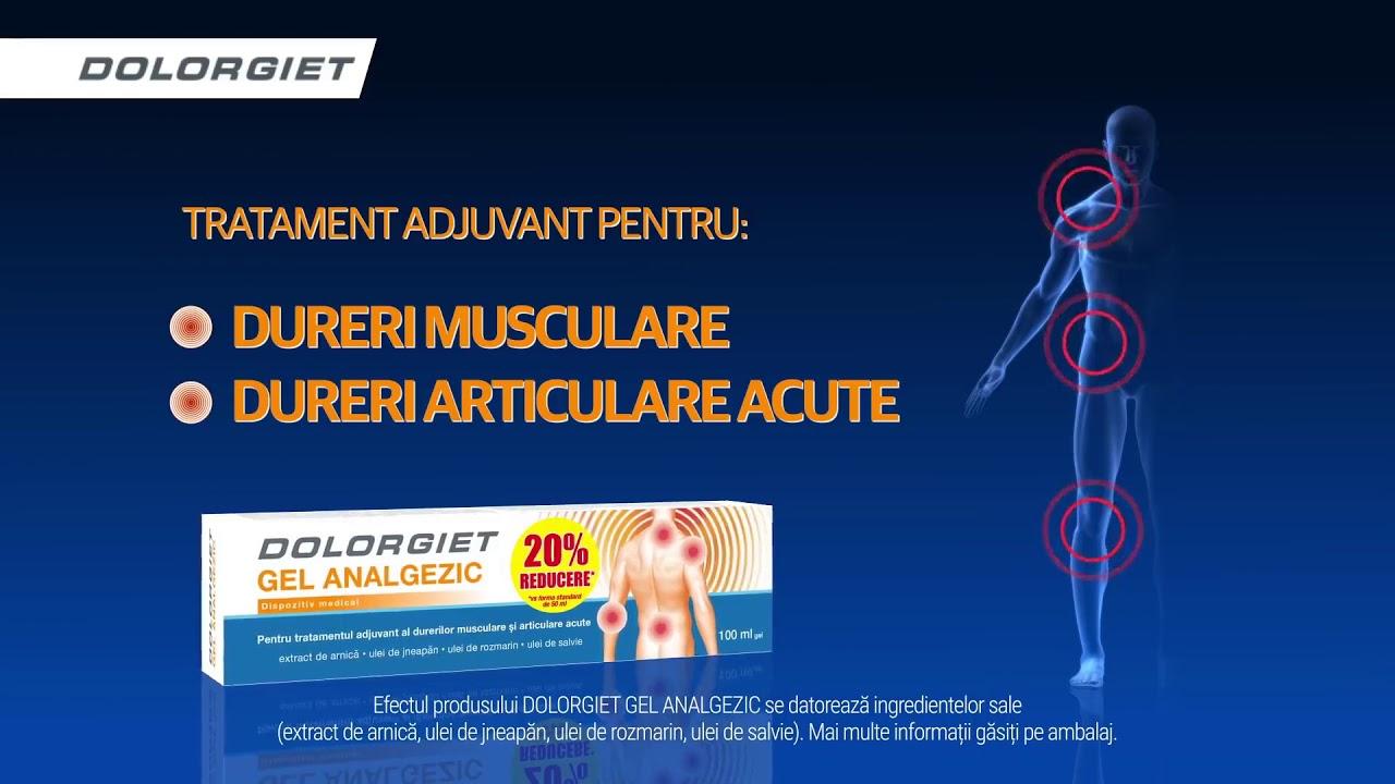 tratamentul durerilor acute de sold amplipulează tratamentul articular