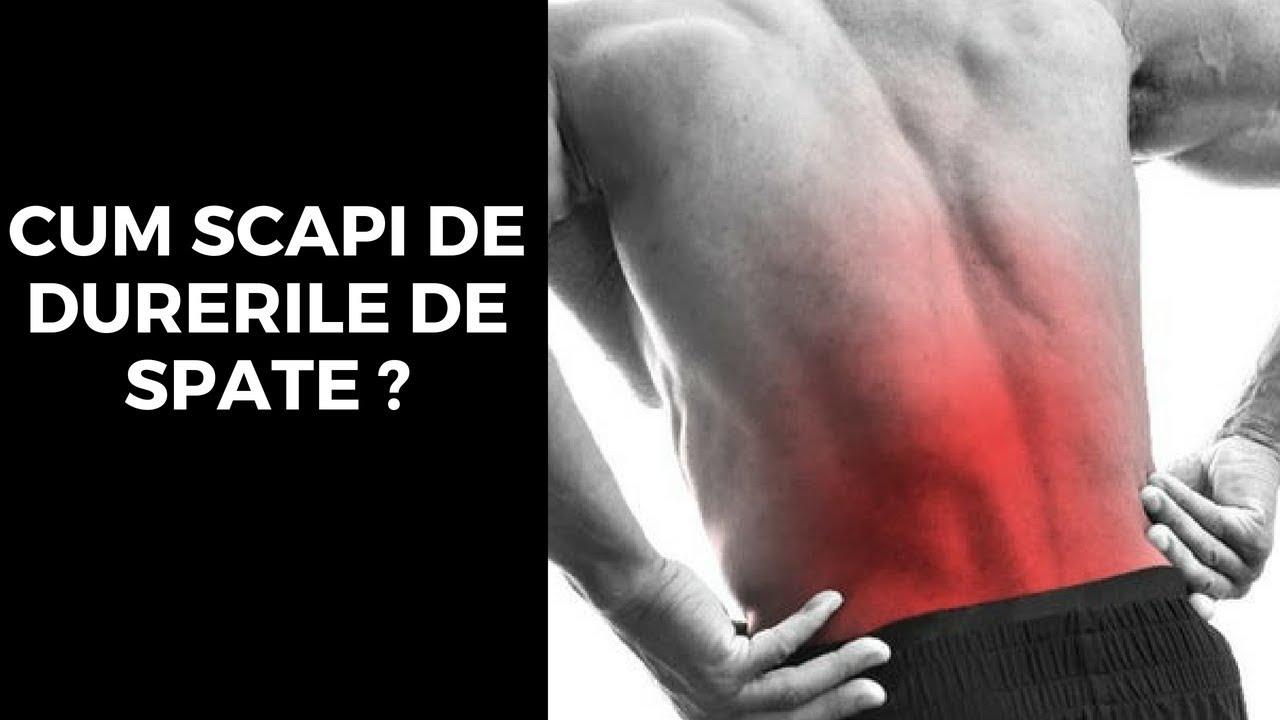 Durerea lombara sau durerea joasa de spate