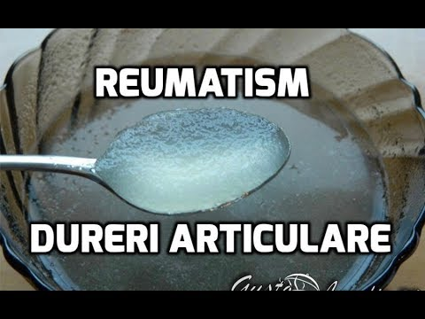 cum să tratezi durerile articulare cu reumatism
