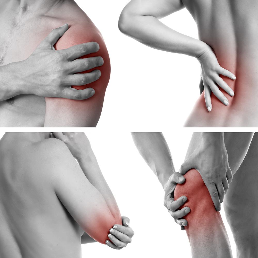 articulațiile și mușchii rănesc oasele