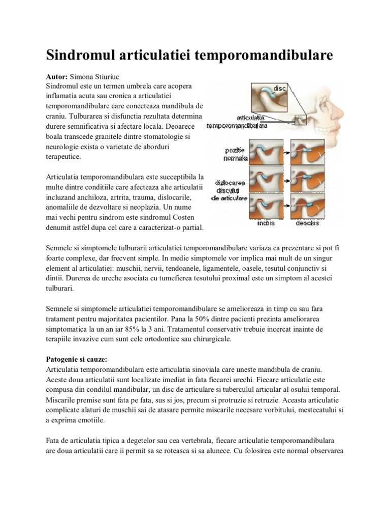 inflamația articulației septice