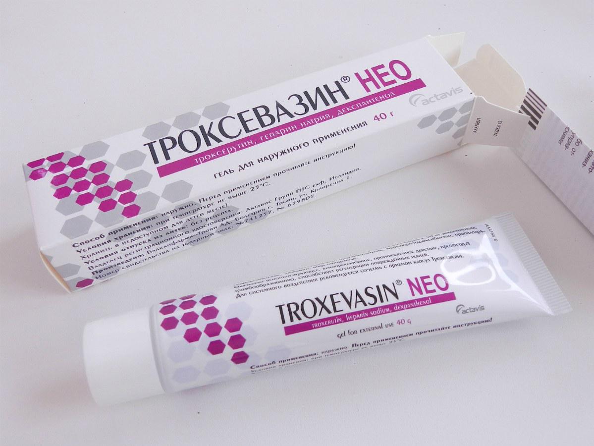unguent troxevasin care sunt medicamentele în tratamentul articulațiilor