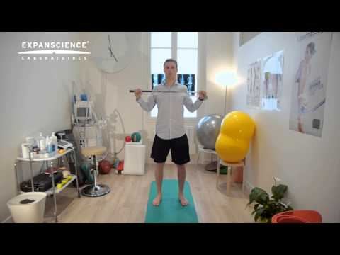 un set de exerciții pentru tratamentul artrozei