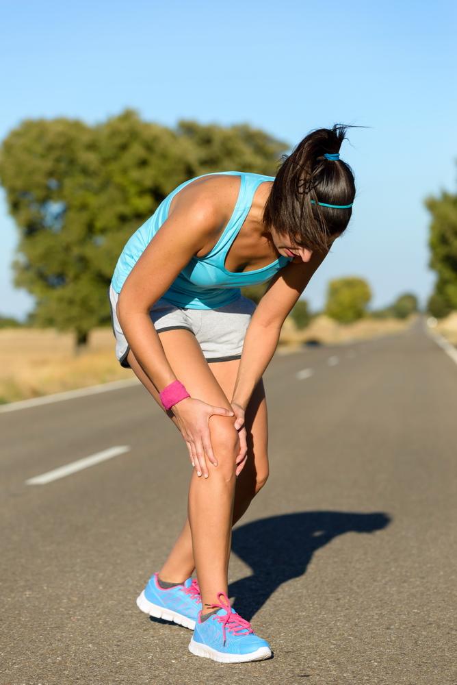 durere și umflături la nivelul articulației genunchiului