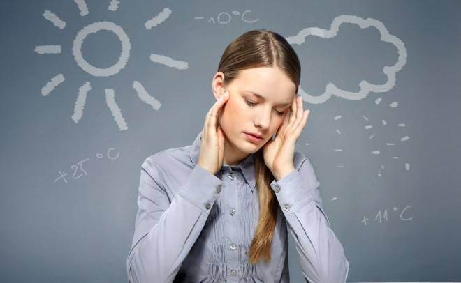schimbarea vremii și dureri articulare