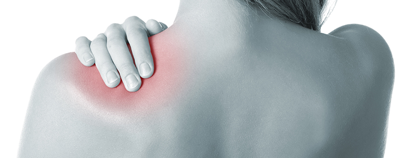 durere între gât și articulația umărului