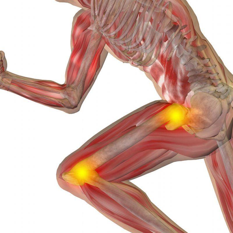 dureri în spate și dă articulației șoldului