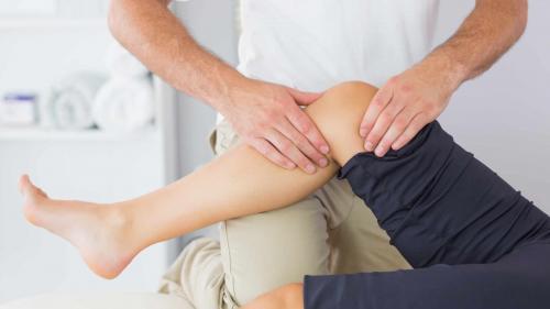 De când genunchi durere