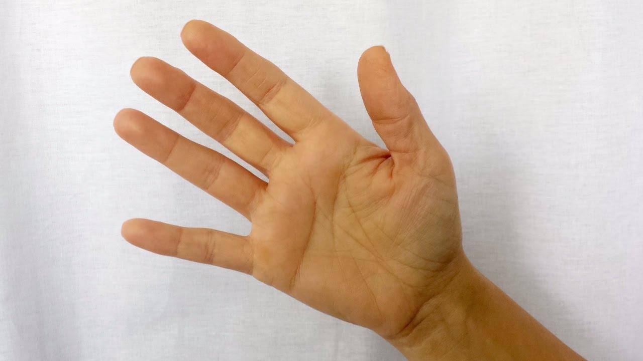articulațiile degetului mijlociu pe braț
