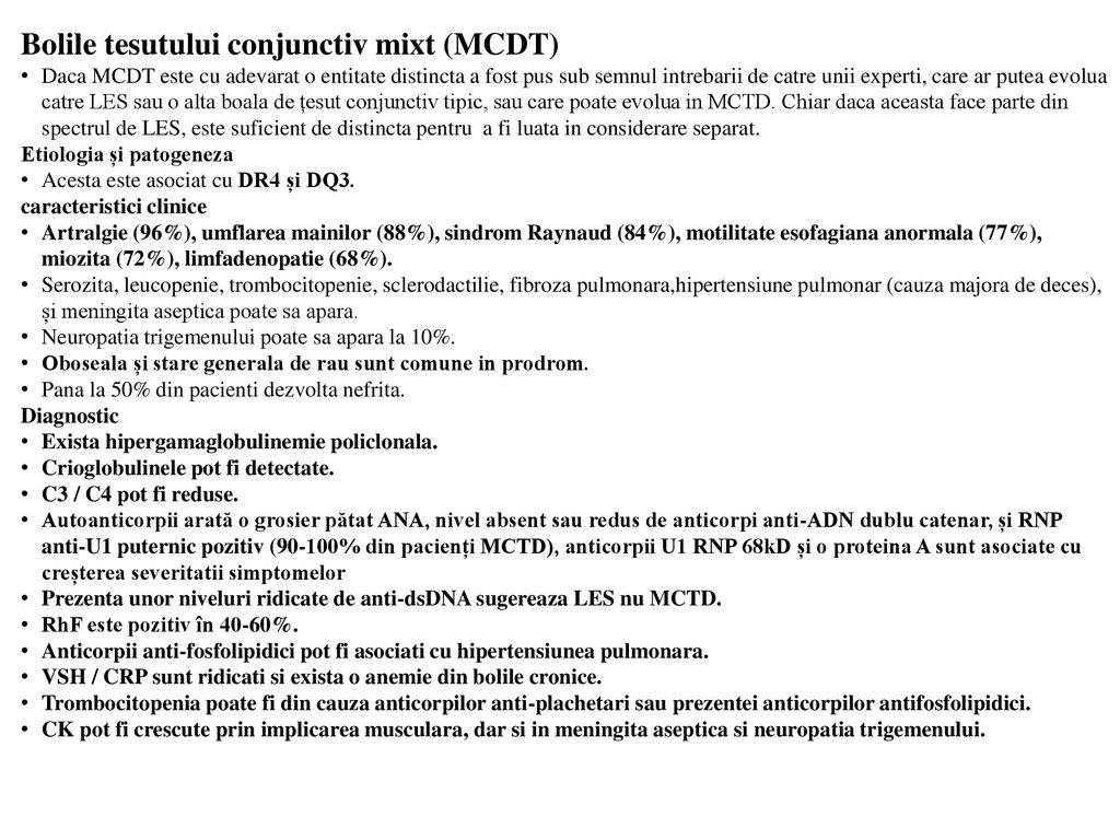 Profil miozita - Blot - Synevo Sarcini difuze ale bolii țesutului conjunctiv