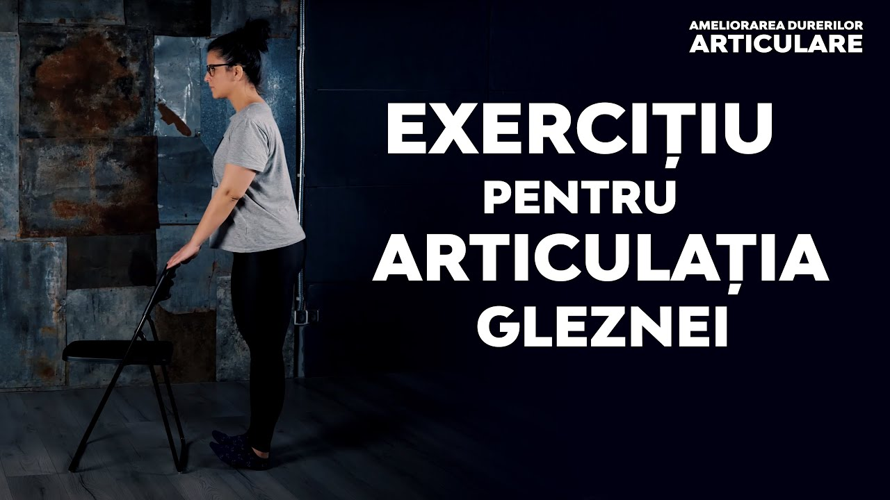 tratați articulația gleznei