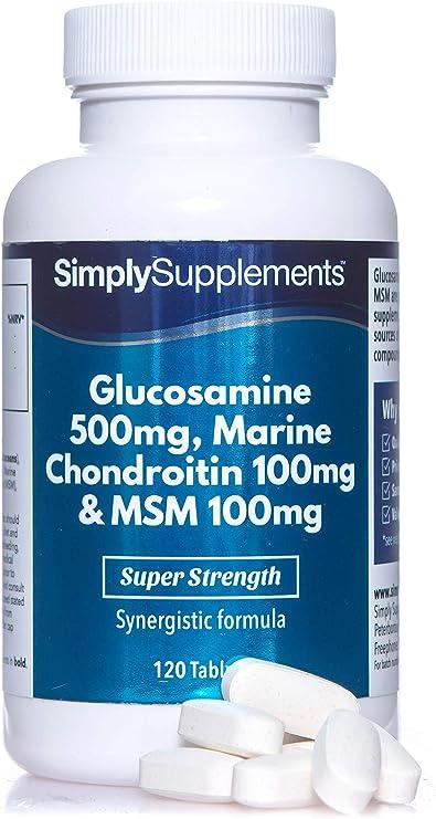 trece în revistă complexul de glucosamină condroitină boli ale articulațiilor cotului simptome și tratament