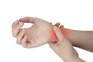 umflarea încheieturii la încheietura mâinii